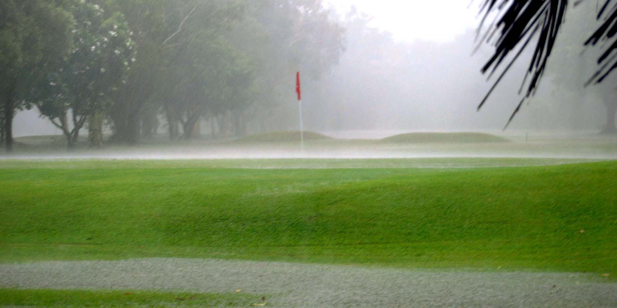 Rain Suspends SSC Men's Golf Championship