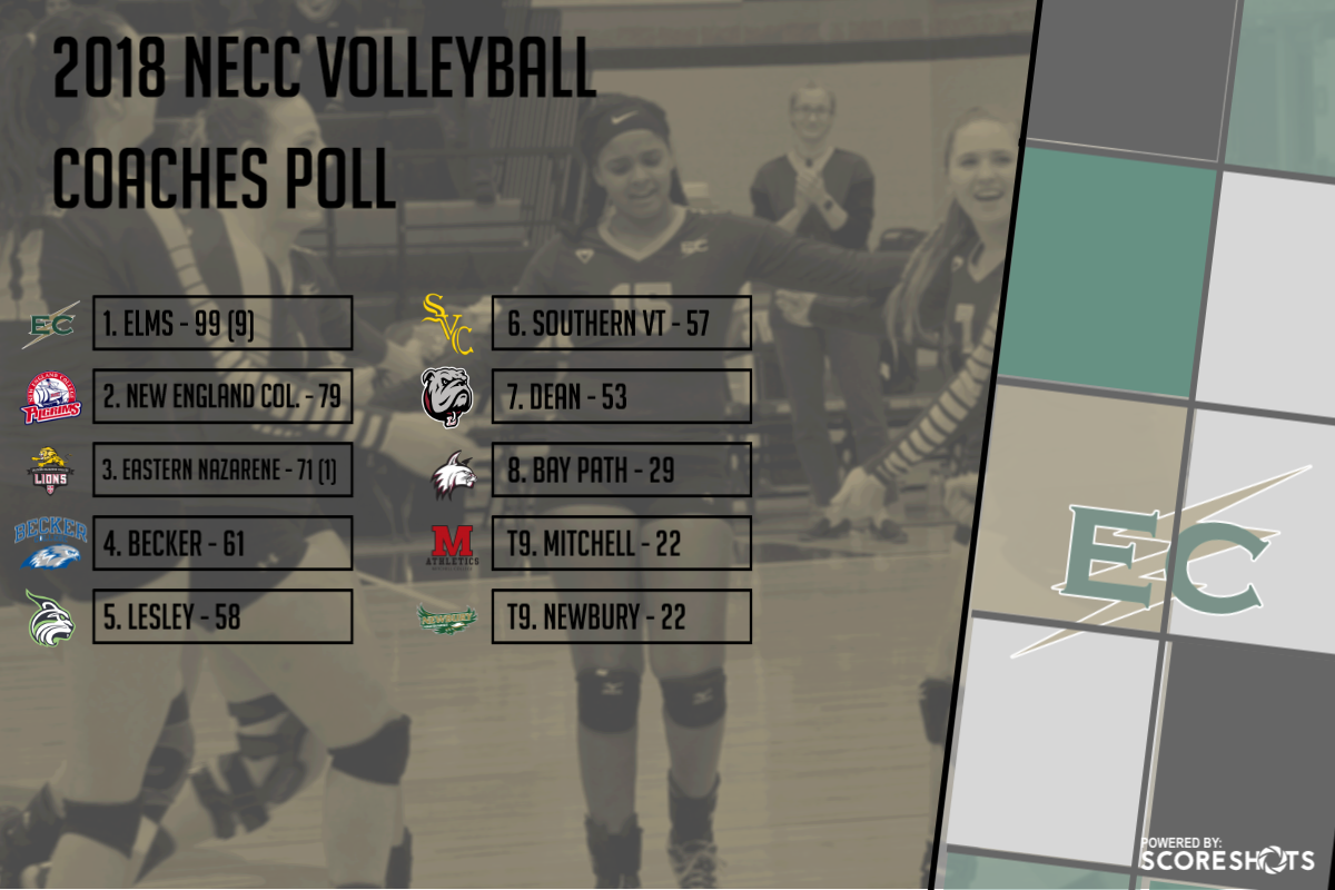 Women's Volleyball Picked To Repeat As NECC Champs
