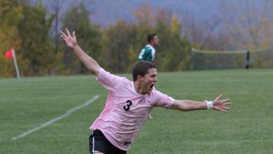 Massucci Leads Mountaineers to Crucial NECC Victory