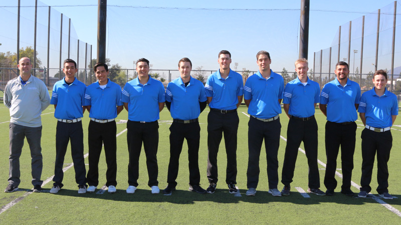 The Citrus College Men's Golf team advanced to the SoCal Finals for the second straight season thanks to their performance at the 2017 WSC Finals.