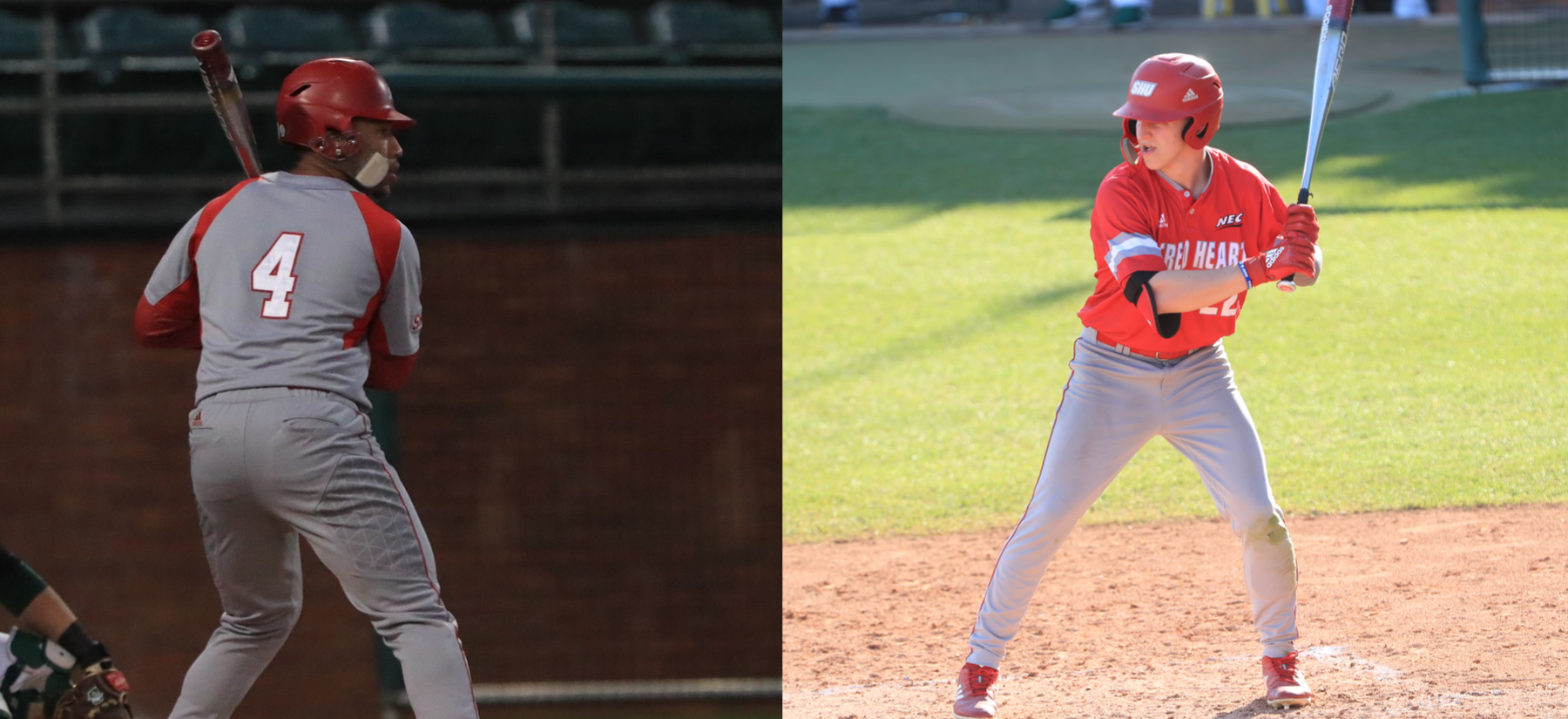 Daubon and Jordan Earn NEC Weekly Honors
