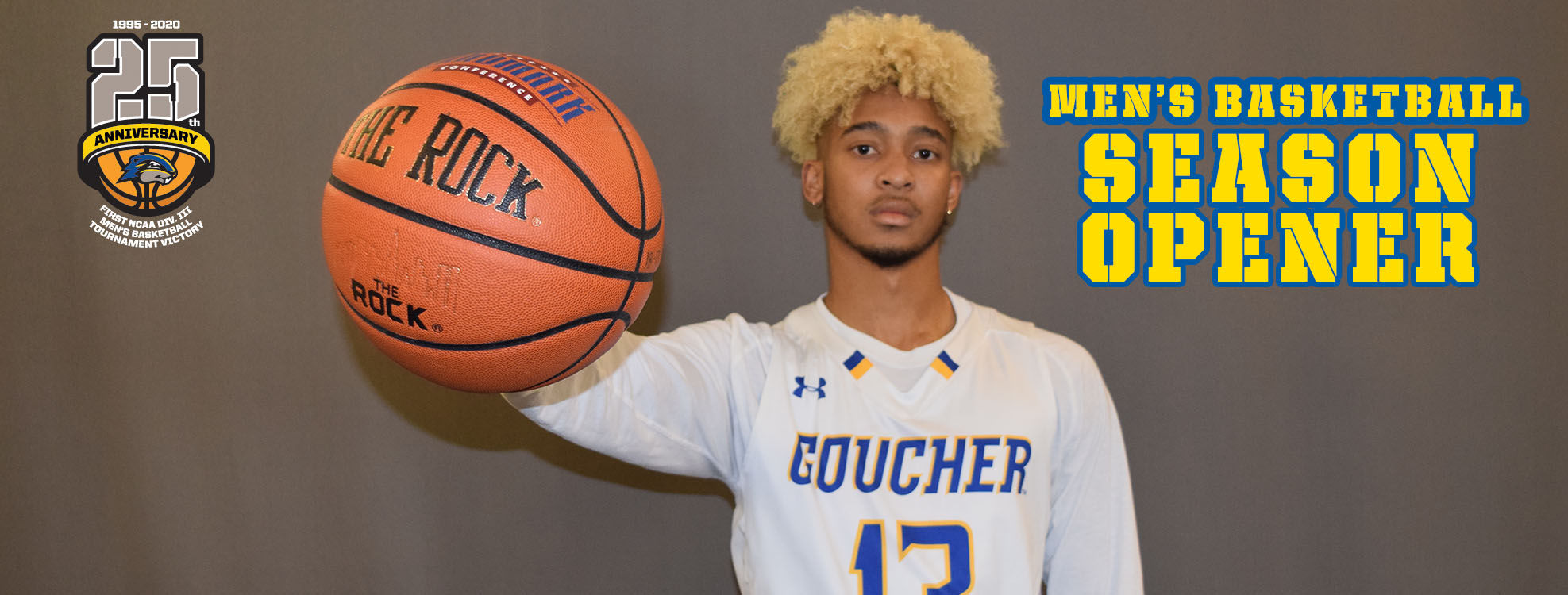 Goucher Men's Basketball Opens 30th Season On The Road At Valley Forge On Friday