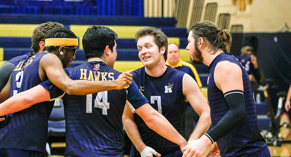 HAWKS ROLL OVER GOLDEN SHIELD IN STRAIGHT SETS