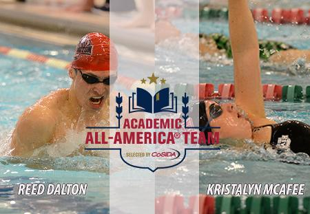 Reed Dalton, Kristalyn McAfee of Washington University Earn CoSIDA Academic All-America Honors