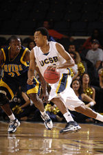 Alex Harris Named Golden 1 UCSBGauchos.com Male Athlete of the Year