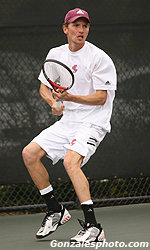 No. 64 Men's Tennis Knocks Off Saint Mary's 5-2 To Win Seventh Straight