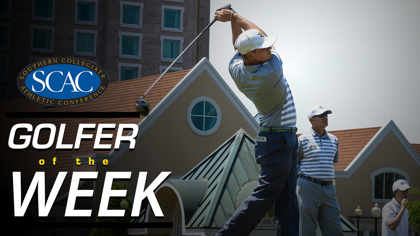 Stith Named SCAC Golfer of the Week