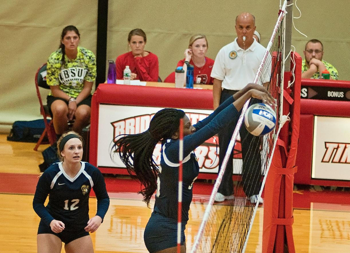 Wentworth Takes Downs Volleyball, 3-0