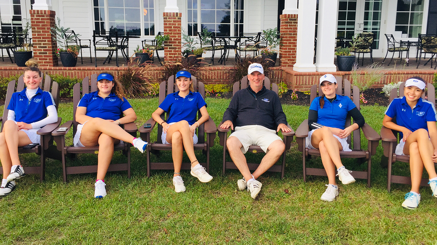 Women's Golf Wins Program's First Tournament, Bertacche Crowned Atlantic East Fall Invitational Champion