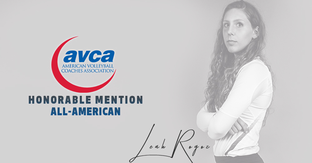 Rogoz Earns AVCA Honorable Mention All-America Honors
