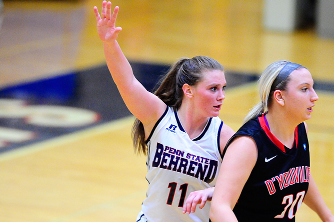 Bethany Outlasts Women's Basketball