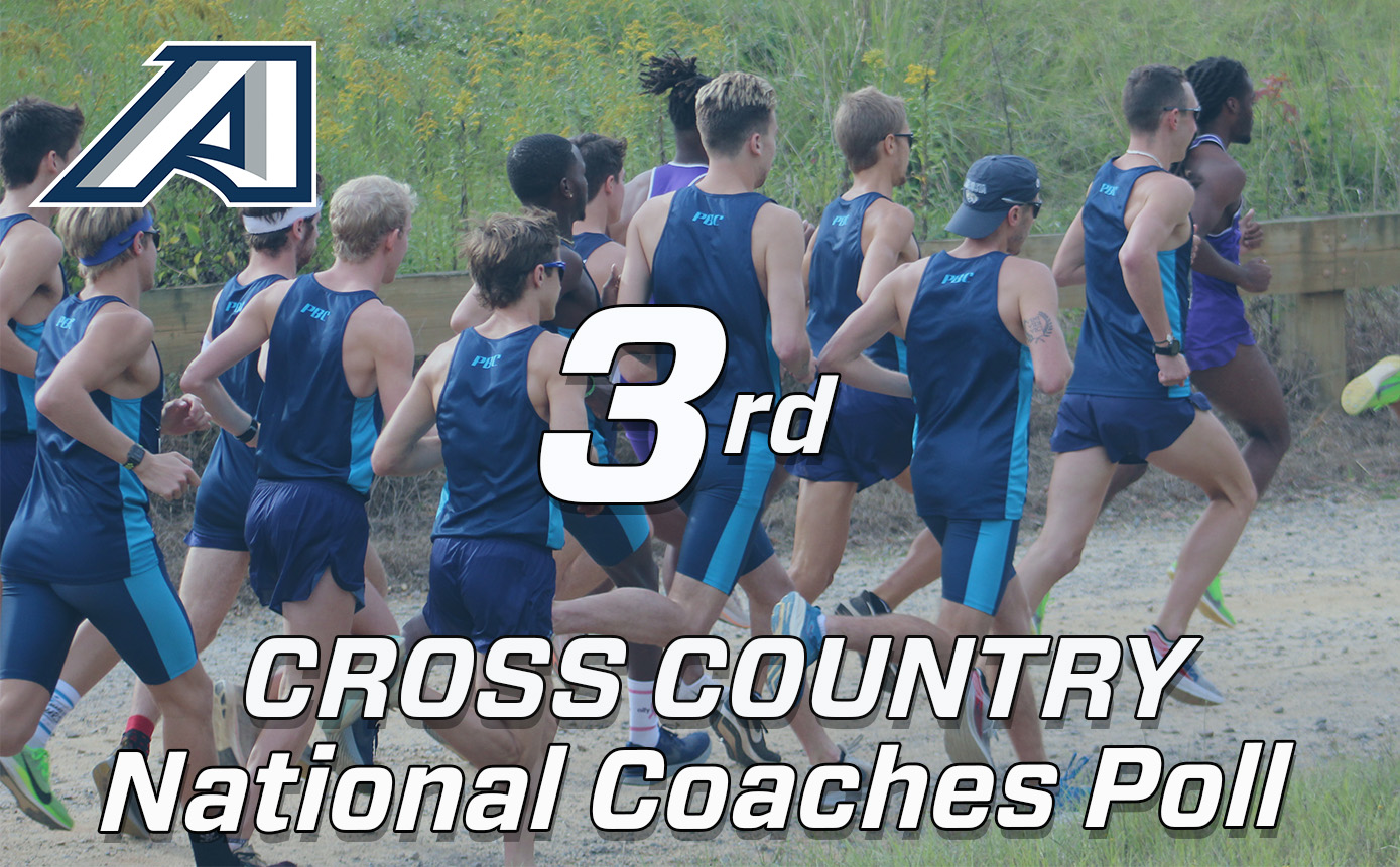AU Men's Cross Country 3rd in National Coaches Poll