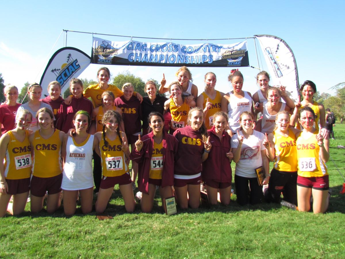 Athenas Win SCIAC Championships, Stags Finish Second