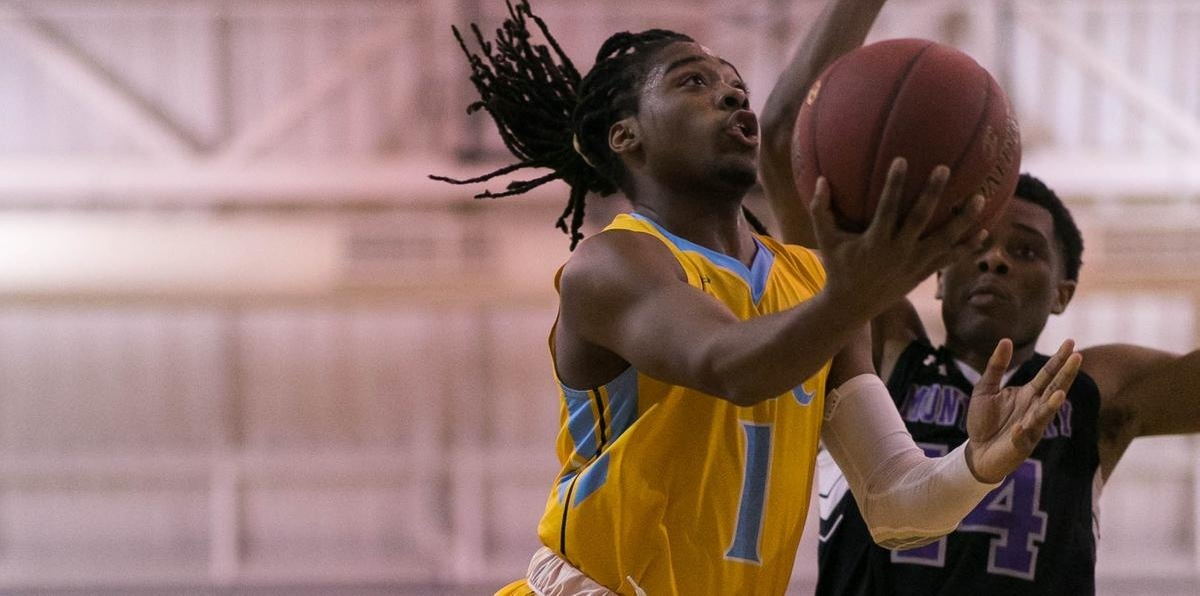 Scrivner Surges Prince George's Men's Basketball Past Montgomery, 88-74
