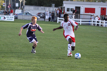 Shand Netted Two Goals in the 4-1 Upset Victory Over ECSU