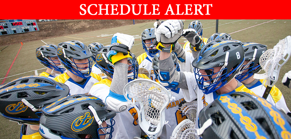 Saturday's Men's Lacrosse Game Moved to April 13