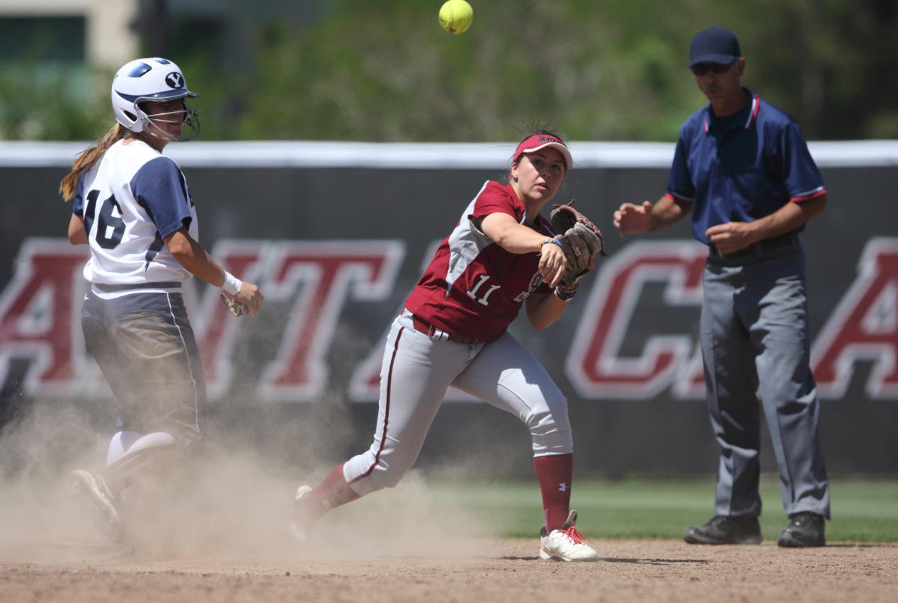 Softball Travels to Utah Valley for Last PCSC Road Games