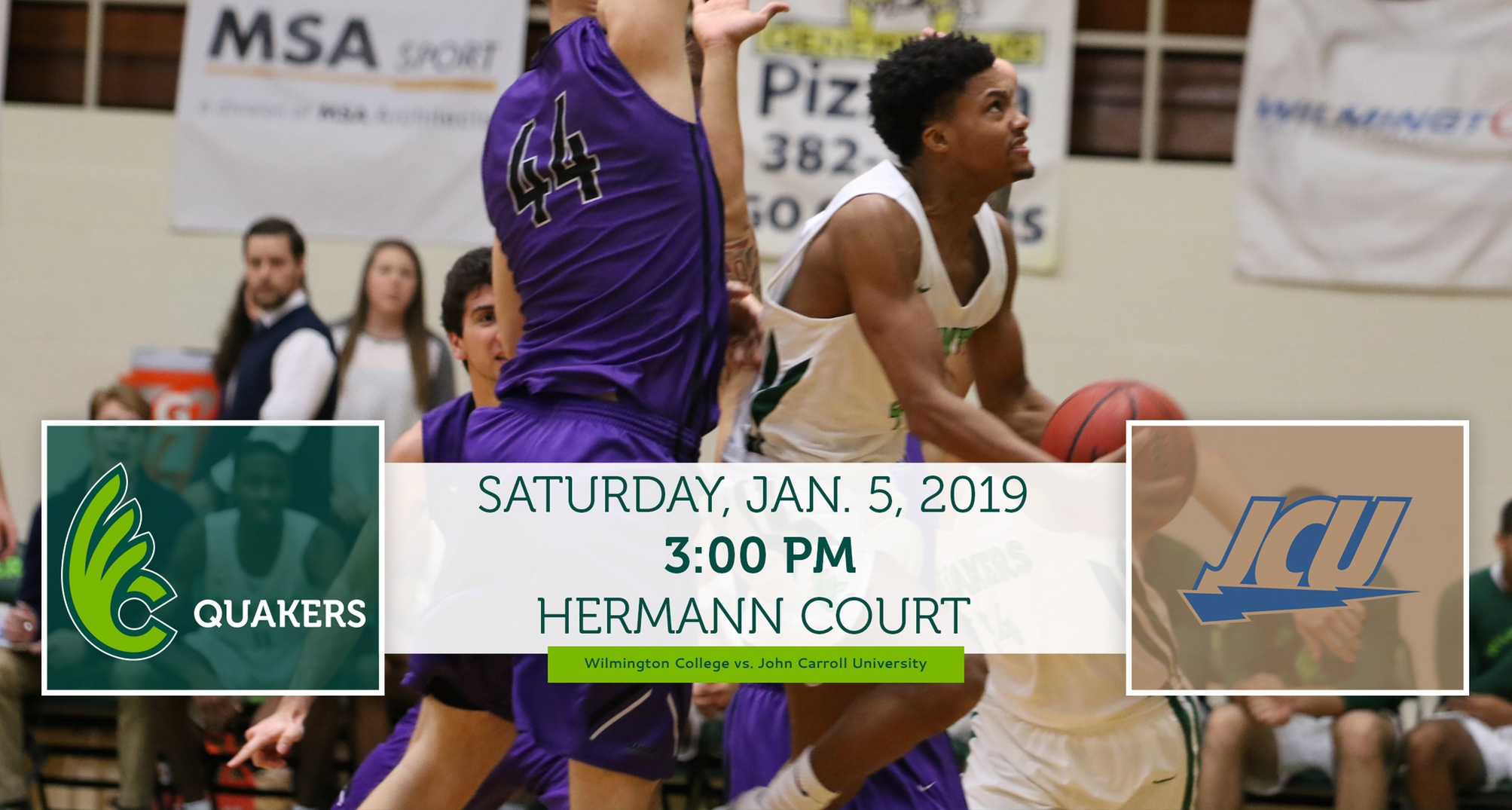 Men's Basketball Opens New Year With John Carroll at Home Saturday