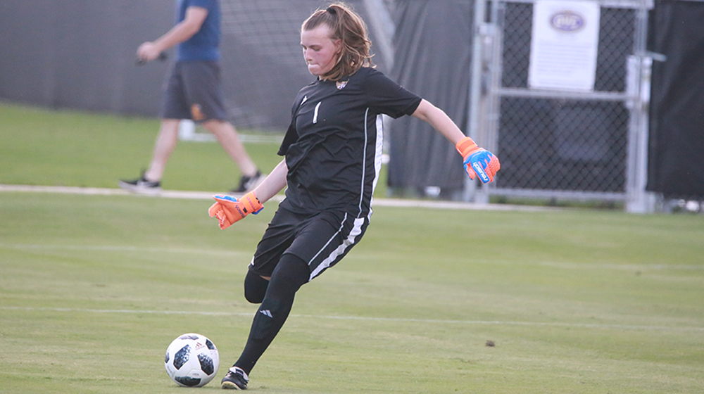 Naerdemann makes history as Golden Eagles claim 1-0 win in season opener