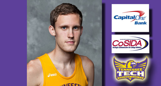 Runner Adam McLeod named CoSIDA Academic All-District