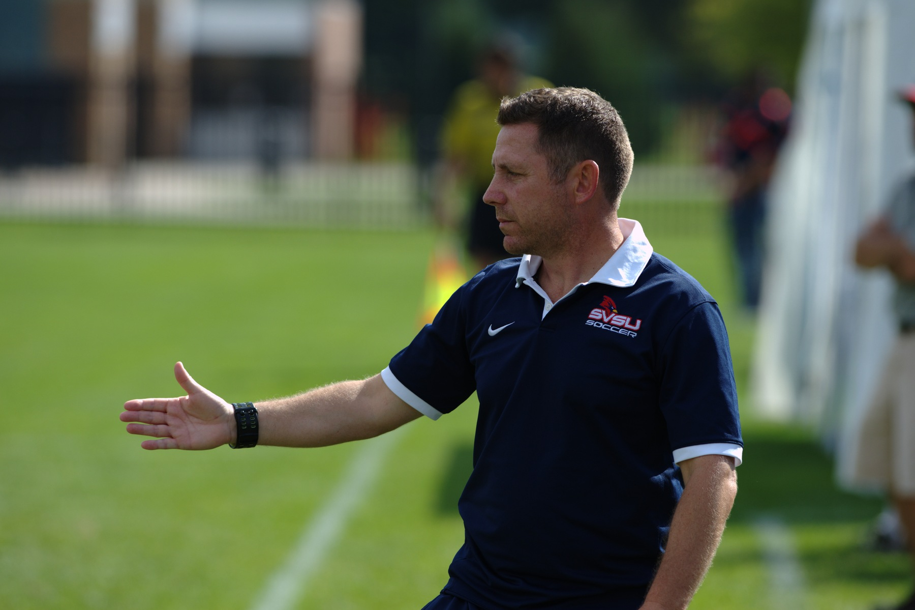 Men's Soccer head coach Andy Wagstaff stepping down from the program