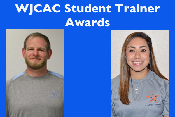 WJCAC Student Trainer Awards