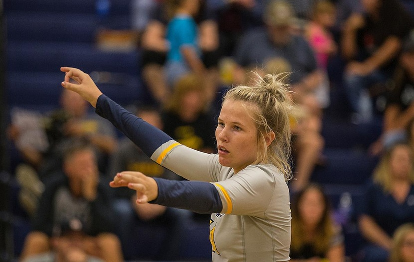 Volleyball Drops First Two Matches at Reiver Classic