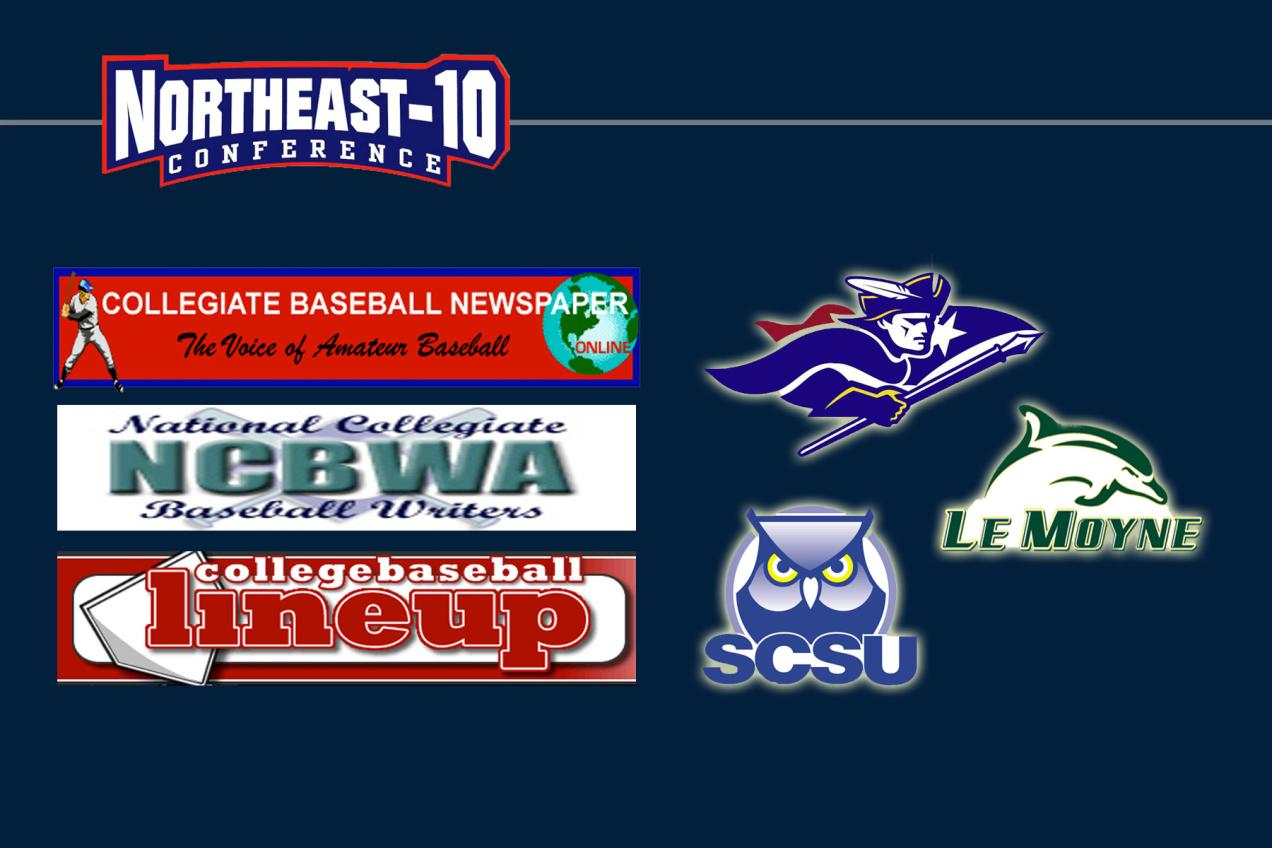 Three Northeast-10 Baseball Programs Remain in National Ranks