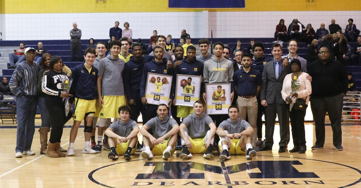 Crofford pushes UM-Dearborn to Senior Day win