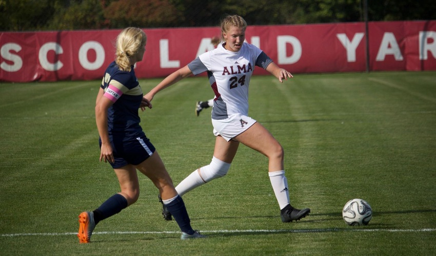 Women's Soccer Falls in Tight Matchup