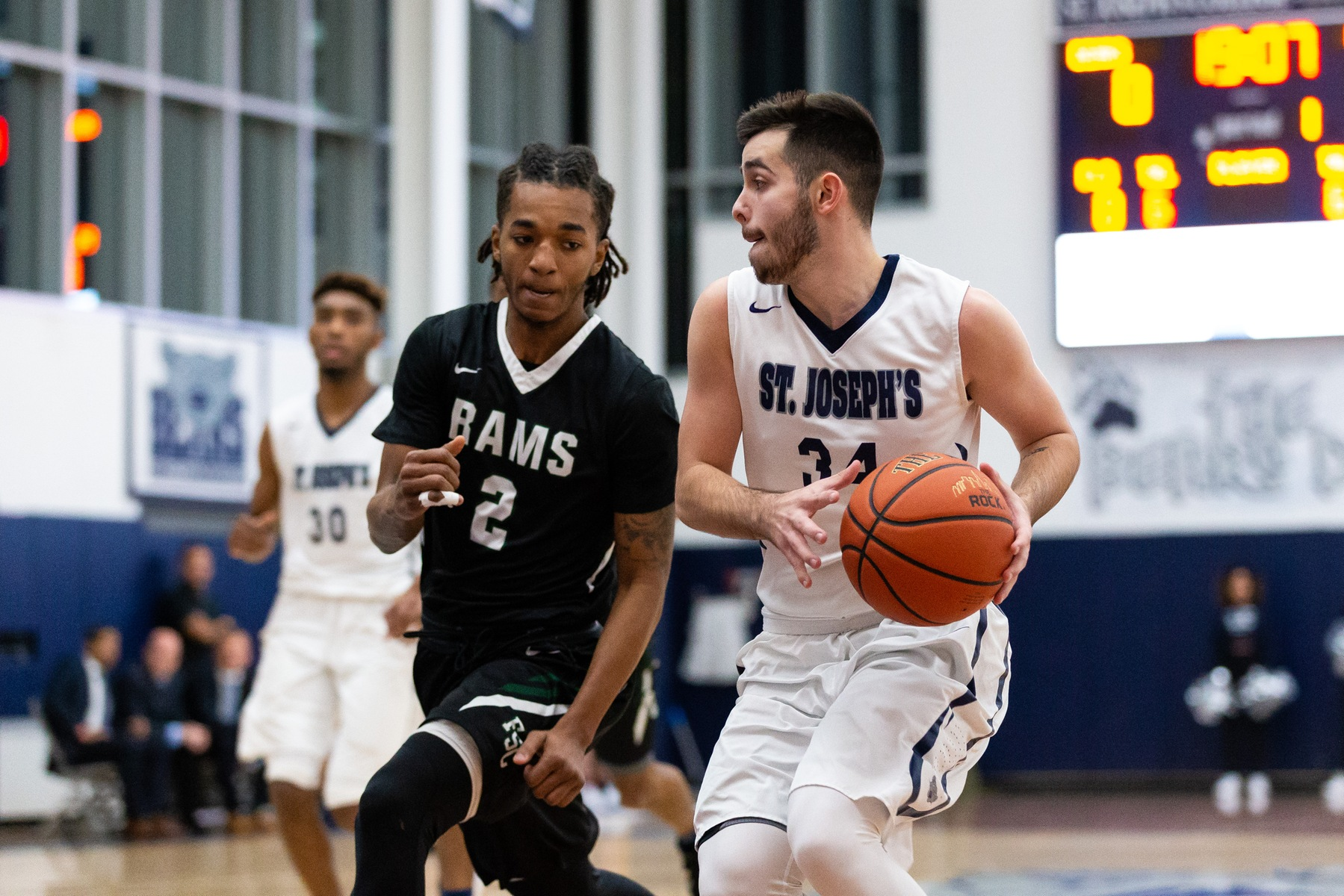 Strong Second Half Lifts Men's Basketball Over Merchant Marine