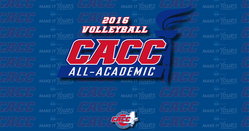 Two Warriors named to CACC Women's Volleyball All-Academic Team