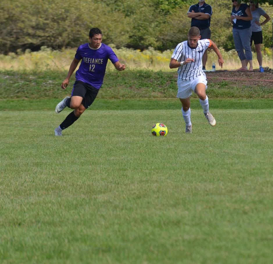 Men's Soccer Wrap-Up Purple and Gold Classic with Westminster Loss
