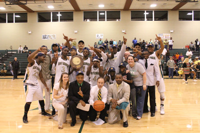 East Georgia State wins the 2013 GCAA Men's Basketball Championship