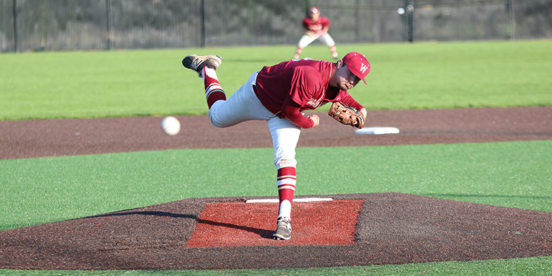 Nathan Gilman (Jr., RHP, Chino Hills, CA/ Diamond Ranch HS), Photo courtesy Pacific Lutheran Athletics