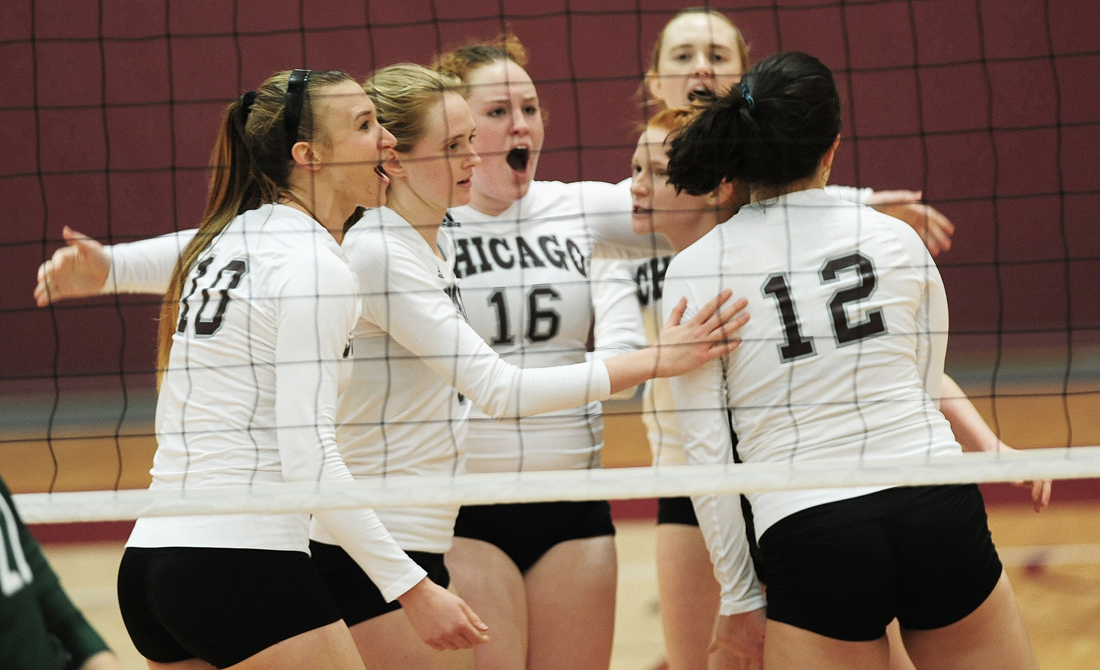 2017 UChicago volleyball summer clinic scheduled for July 8-9