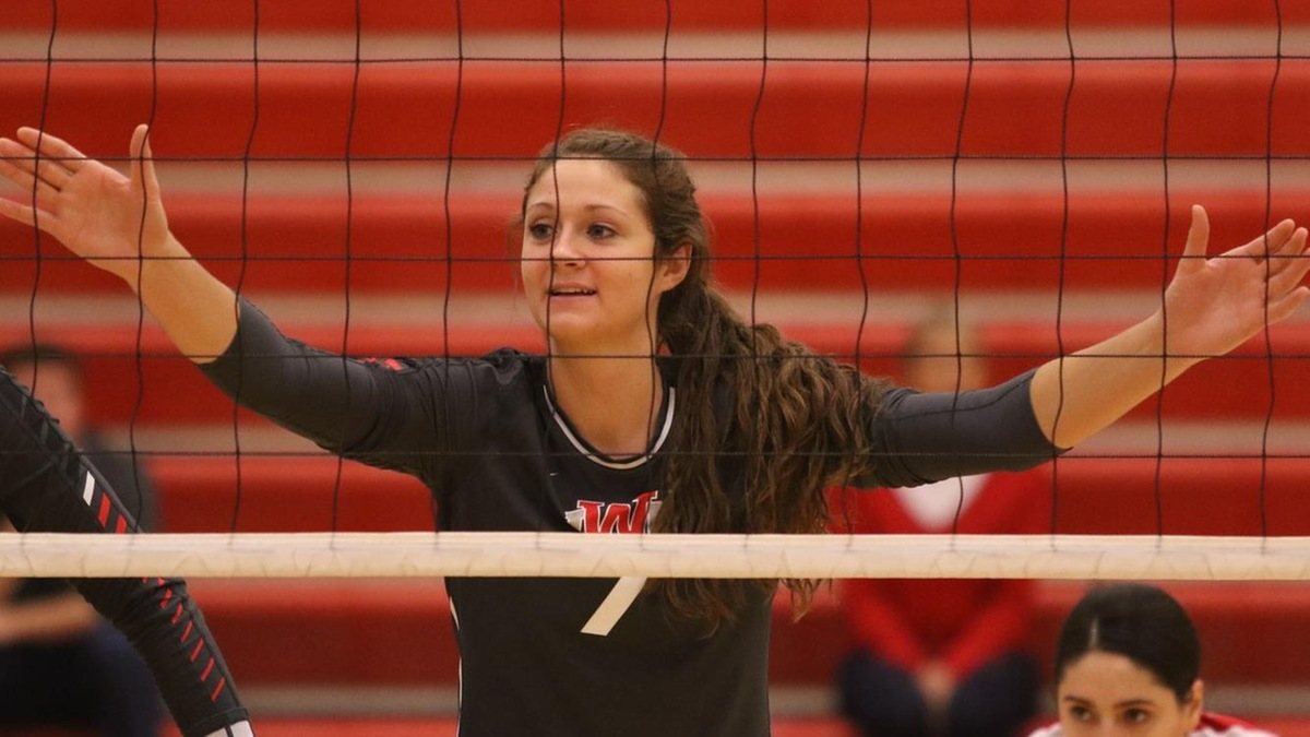 NAIA - Women's Volleyball - Player of the Week - Marci Miller - Indiana Wesleyan