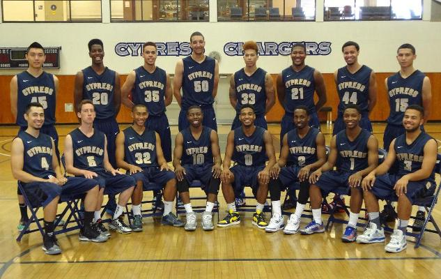 2013 14 Cypress Chargers Men S Basketball Cypress