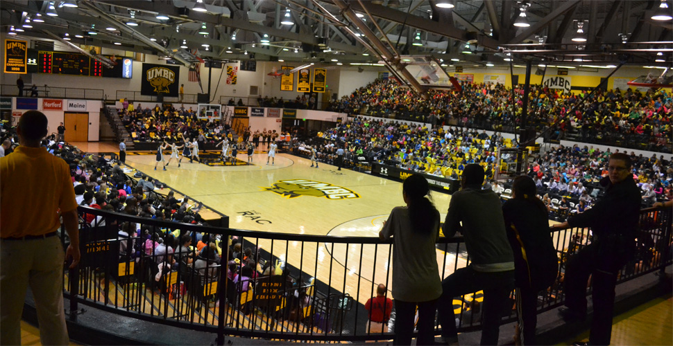 Streaky Shooting on Midday Madness Drops Women's Basketball in Front of Record Crowd, 60-47