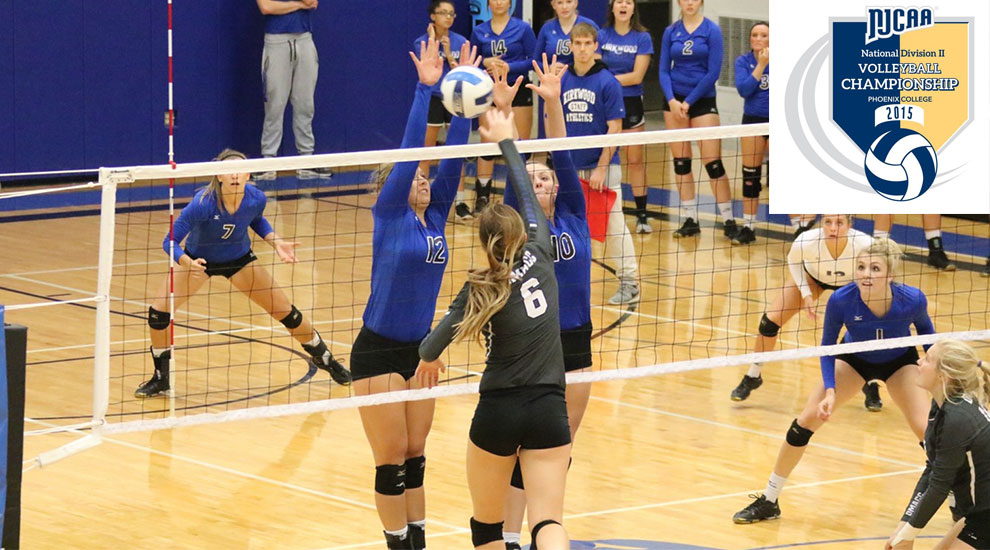 Photo for Volleyball falls in NJCAA National Tournament Quarterfinals