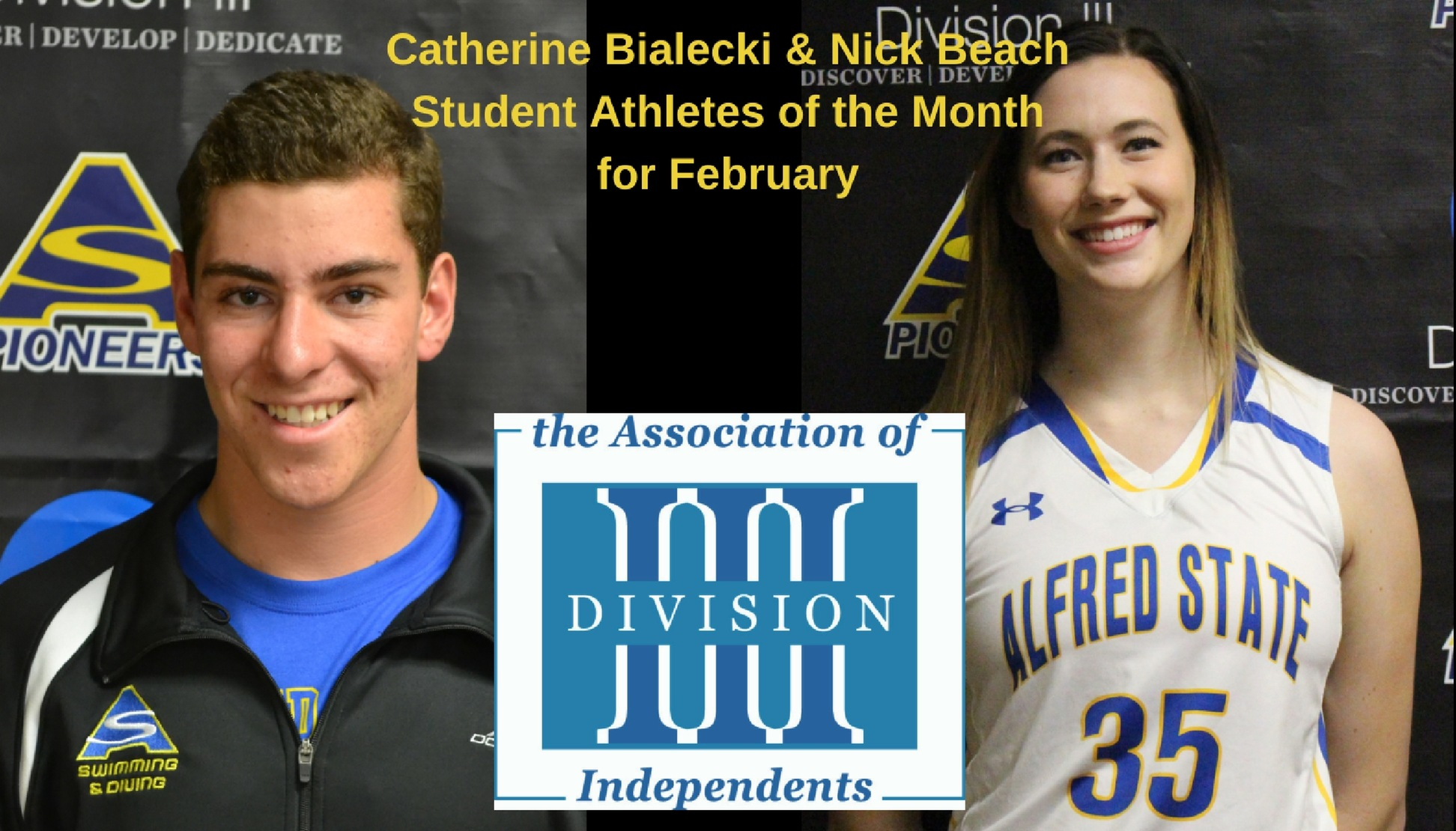 Bialecki and Beach Earn A3DI Monthy Honors