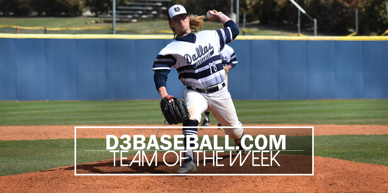 Dallas' Wallace Named to D3Baseball.com Team of the Week