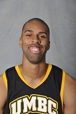 Laurence Jolicoeur posted his first career double-double (16/10) in the UMBC setback to VMI.