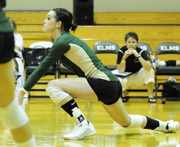Bay Path College Sweeps by Women's Volleyball, 3-0