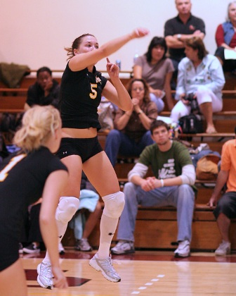 Athenas Dominate Muhlenberg in Three