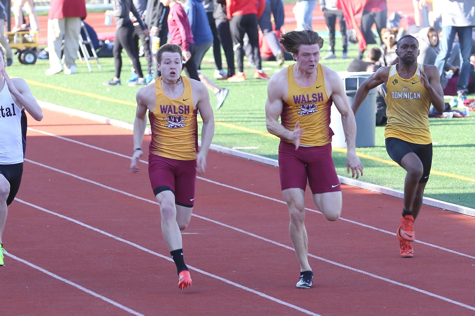 Men's Track Has Provisional Weekend