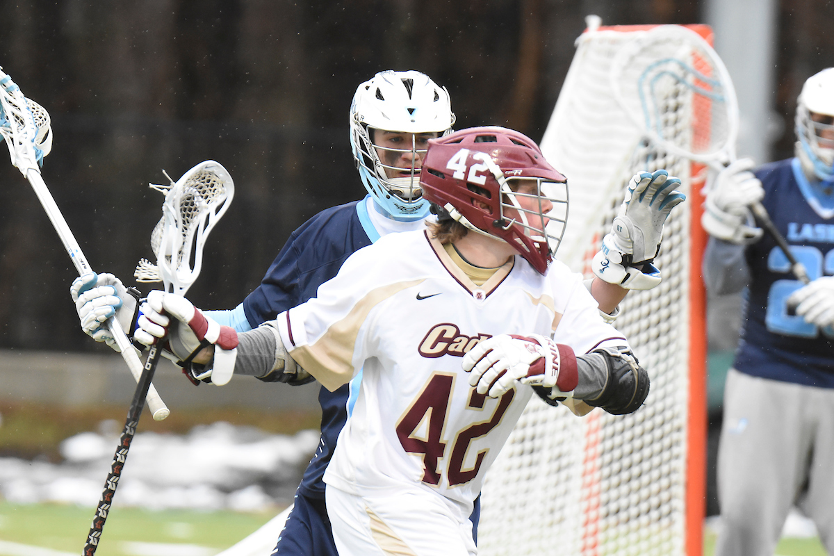 Men's Lacrosse: Norwich dominates Regis in conference play, 16-1
