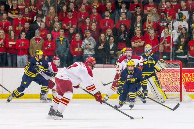 Tickets On Sale For Last CCHA Games At Michigan On March 1-2