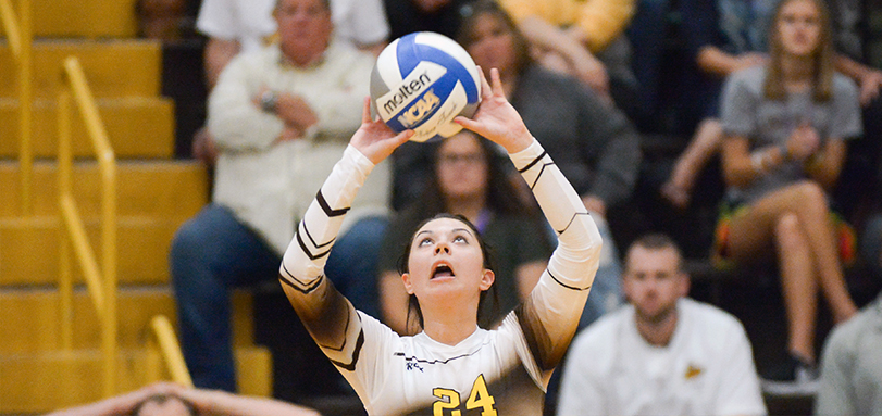 Abby Cosart tallied a career-high 16 assists