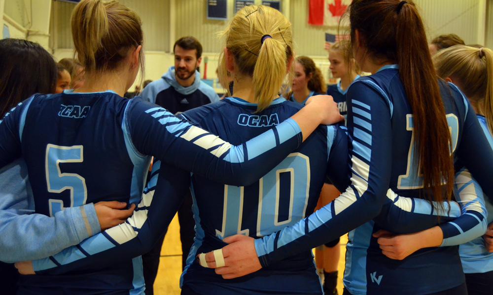 Women's volleyball suffer loss at St. Clair